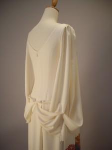 絹服(kimono-fuku)ドレス 付下げ