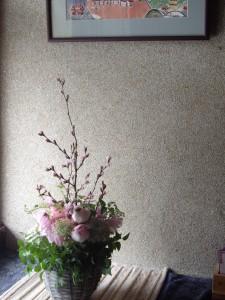 ☆雪の日の記念日に届けられたお花2☆