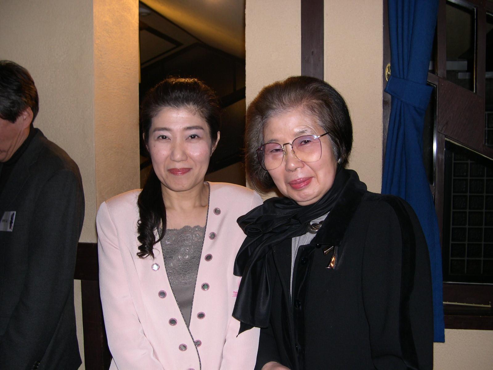「連塾(2007年1月27日)」植田いつ子先生とー1
