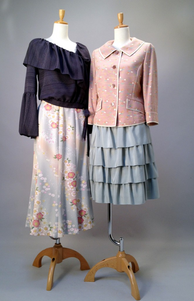 千里阪急 「暮らし新鮮」 さくら工房 絹kimono-fuku服