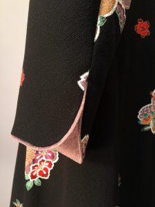 さくら工房 絹(kimono-fuku)服 ワッフルカラーコート